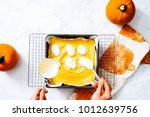 overhead of in process step... | Shutterstock . vector #1012639756