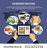 online search of warehouse for... | Shutterstock .eps vector #1012652236