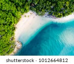 a vibrant aerial view of the... | Shutterstock . vector #1012664812