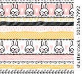 template of seamless pattern... | Shutterstock .eps vector #1012667992