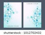 business vector templates for... | Shutterstock .eps vector #1012702432