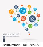 ai creative think system... | Shutterstock .eps vector #1012705672