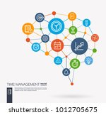 ai creative think system... | Shutterstock .eps vector #1012705675