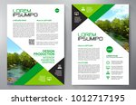 business brochure. flyer design.... | Shutterstock .eps vector #1012717195