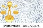 the original 3d character... | Shutterstock . vector #1012720876