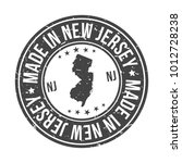 made in new jersey state usa... | Shutterstock .eps vector #1012728238