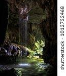 Underground Waterfall Taken In...