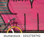 Road Bicycle Graffiti Art On...