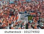 Aerial View Of Staromestska...