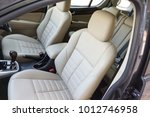 Stock photo car seats at the front row 1012746958
