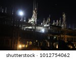 night light construction of the ... | Shutterstock . vector #1012754062