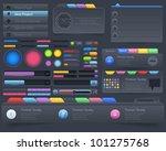 web elements vector design set | Shutterstock .eps vector #101275768