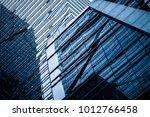 detail shot of modern business... | Shutterstock . vector #1012766458
