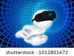 the original 3d character... | Shutterstock . vector #1012801672