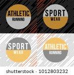 t shirt design sports athletic... | Shutterstock .eps vector #1012803232