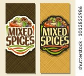 vector vertical banners for... | Shutterstock .eps vector #1012832986