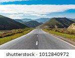 highway in a mountainous area | Shutterstock . vector #1012840972