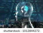 ai artificial intelligence ... | Shutterstock . vector #1012844272