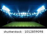 american football arena field... | Shutterstock .eps vector #1012859098