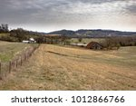 rural appalachian countryside... | Shutterstock . vector #1012866766