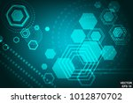 abstract background. geometric. ... | Shutterstock .eps vector #1012870702