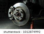 car maintenance series  closeup ... | Shutterstock . vector #1012874992