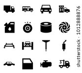 origami style icon set   car... | Shutterstock .eps vector #1012888876
