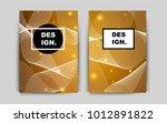 dark orange vector pattern for...