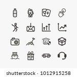 universal icon set and agile...