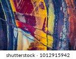 mineral design  macro closeup... | Shutterstock . vector #1012915942
