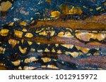 mineral design  macro closeup... | Shutterstock . vector #1012915972