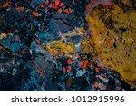 mineral design  macro closeup... | Shutterstock . vector #1012915996