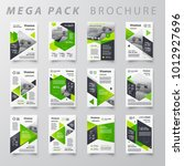 mega pack brochure design... | Shutterstock .eps vector #1012927696