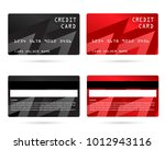 member card  business vip card  ... | Shutterstock .eps vector #1012943116