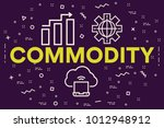 conceptual business... | Shutterstock . vector #1012948912