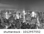 new york city   june 9  2013 ... | Shutterstock . vector #1012957552