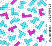 vector abstract seamless... | Shutterstock .eps vector #1012959928