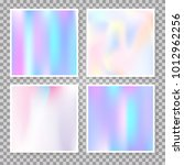 hologram abstract backgrounds... | Shutterstock .eps vector #1012962256