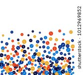 vector confetti background... | Shutterstock .eps vector #1012969852