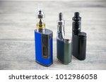e   cigarette for vaping  ... | Shutterstock . vector #1012986058