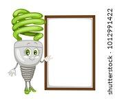 cartoon illustration of a... | Shutterstock .eps vector #1012991422