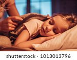 good night  princess ... | Shutterstock . vector #1013013796