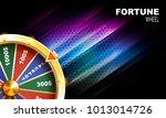 wheel of fortune gambling... | Shutterstock .eps vector #1013014726