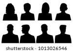set silhouettes of men and... | Shutterstock .eps vector #1013026546