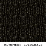 geometric repeating vector... | Shutterstock .eps vector #1013036626