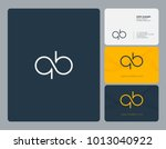 letters q b  q   b joint logo...