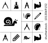 Draw Icons. Set Of 13 Editable...