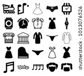 classic icons. set of 25... | Shutterstock .eps vector #1013076526