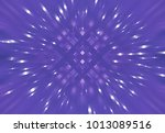 abstract dynamic violet... | Shutterstock . vector #1013089516