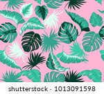 vector seamless pattern with... | Shutterstock .eps vector #1013091598